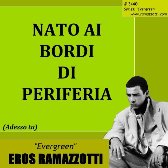 Eros Ramazzotti Silber y Missie